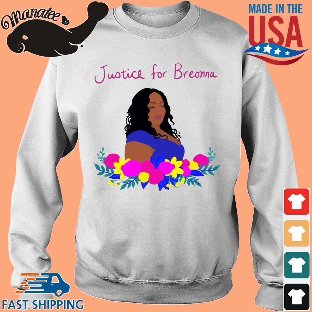 Justice for Breonna flower s Sweater trang