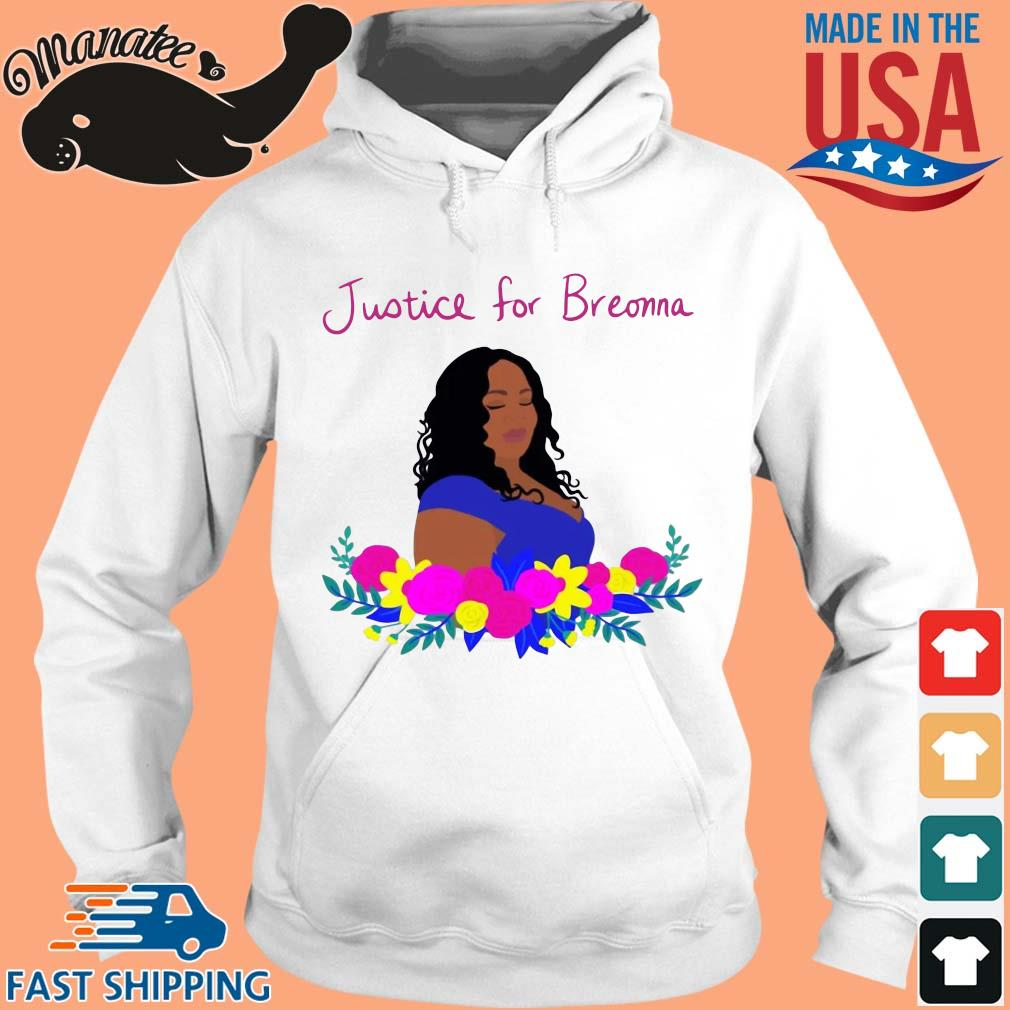 Justice for Breonna flower s hoodie trang