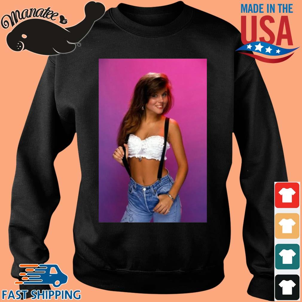 Kelly Kapowski saved by the bell retro 80's s Sweater den