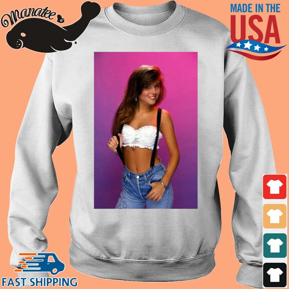 Kelly Kapowski saved by the bell retro 80's s Sweater trang