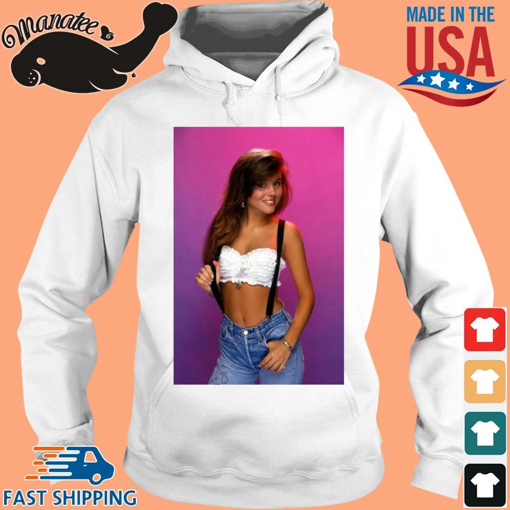 Kelly Kapowski saved by the bell retro 80's s hoodie trang
