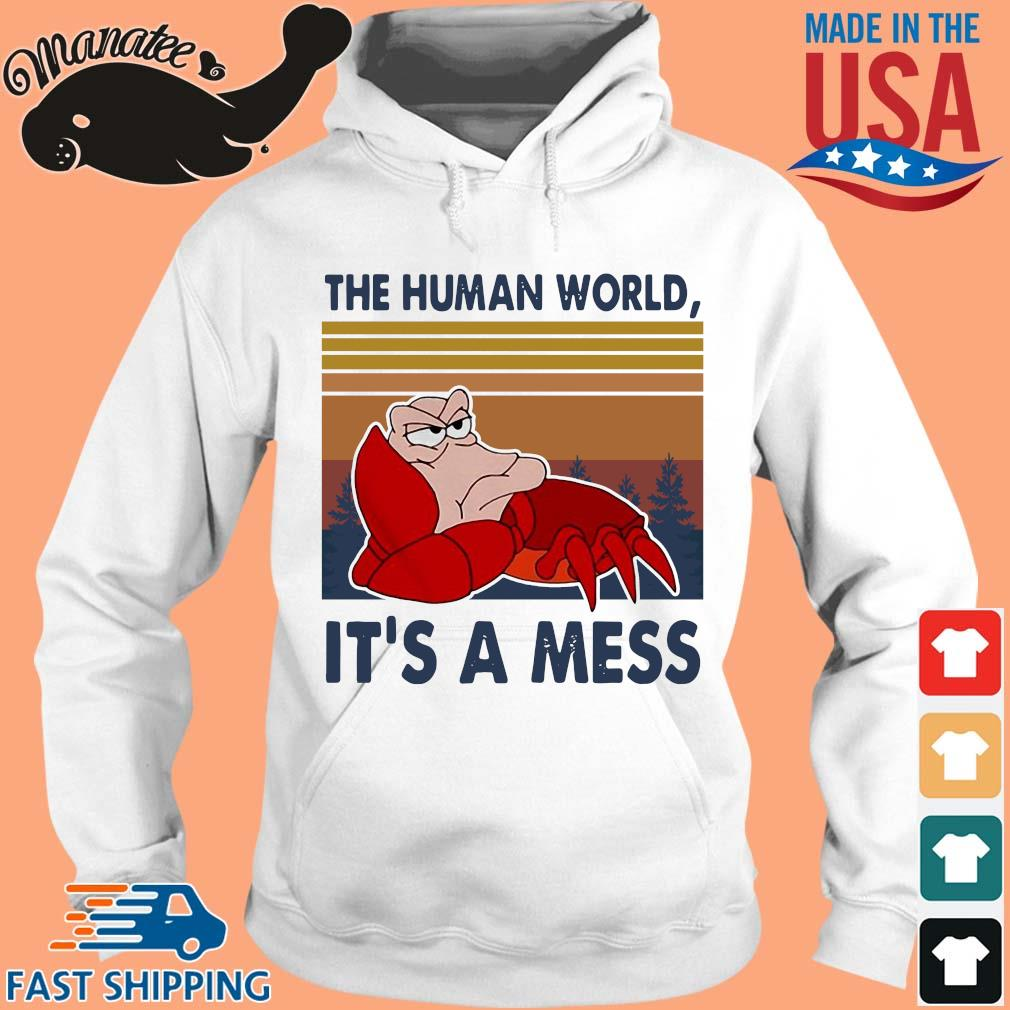 Sebastian the human world it's a mess vintage s hoodie trang