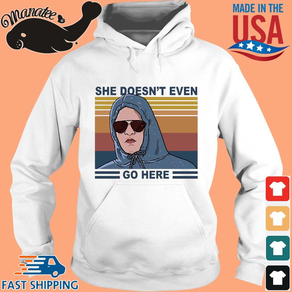 Damian She doesn't even go here vintage s hoodie trang