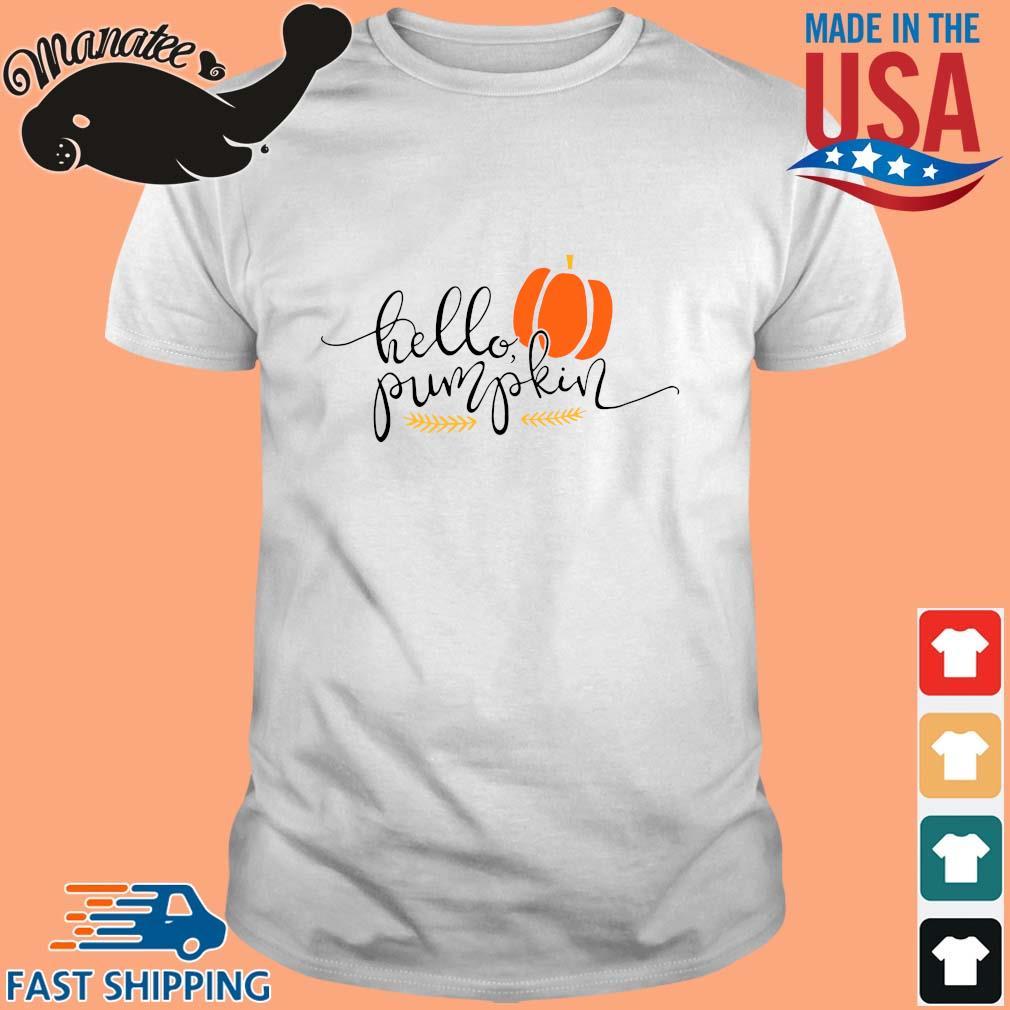 Hello pumpkin Halloween shirt