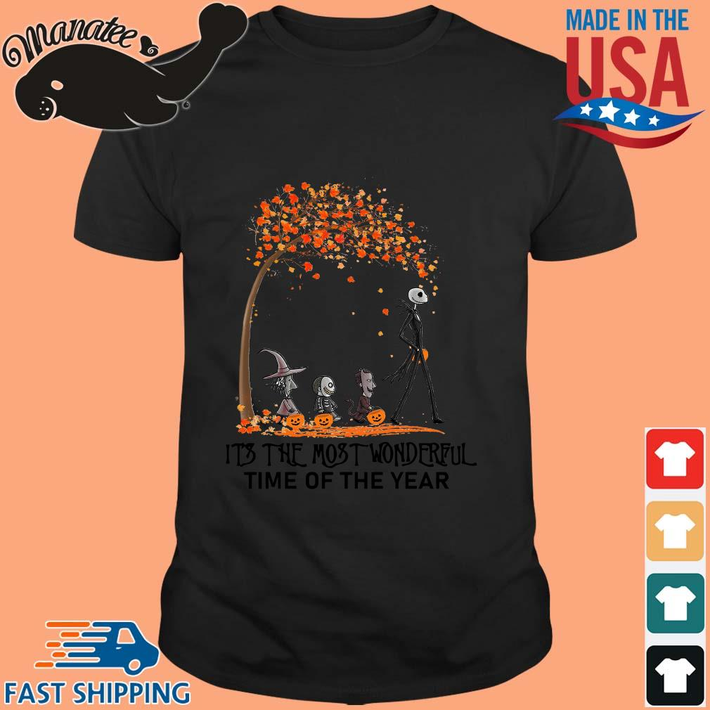 Jack Skellington and Friends its the most wonderful time of the year Halloween shirt