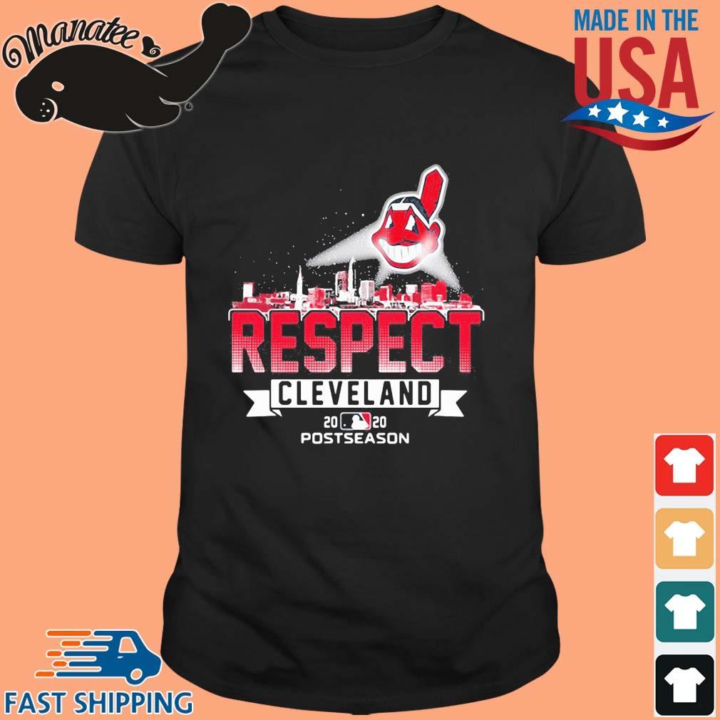 Respect Cleveland Indians 2020 postseason shirt