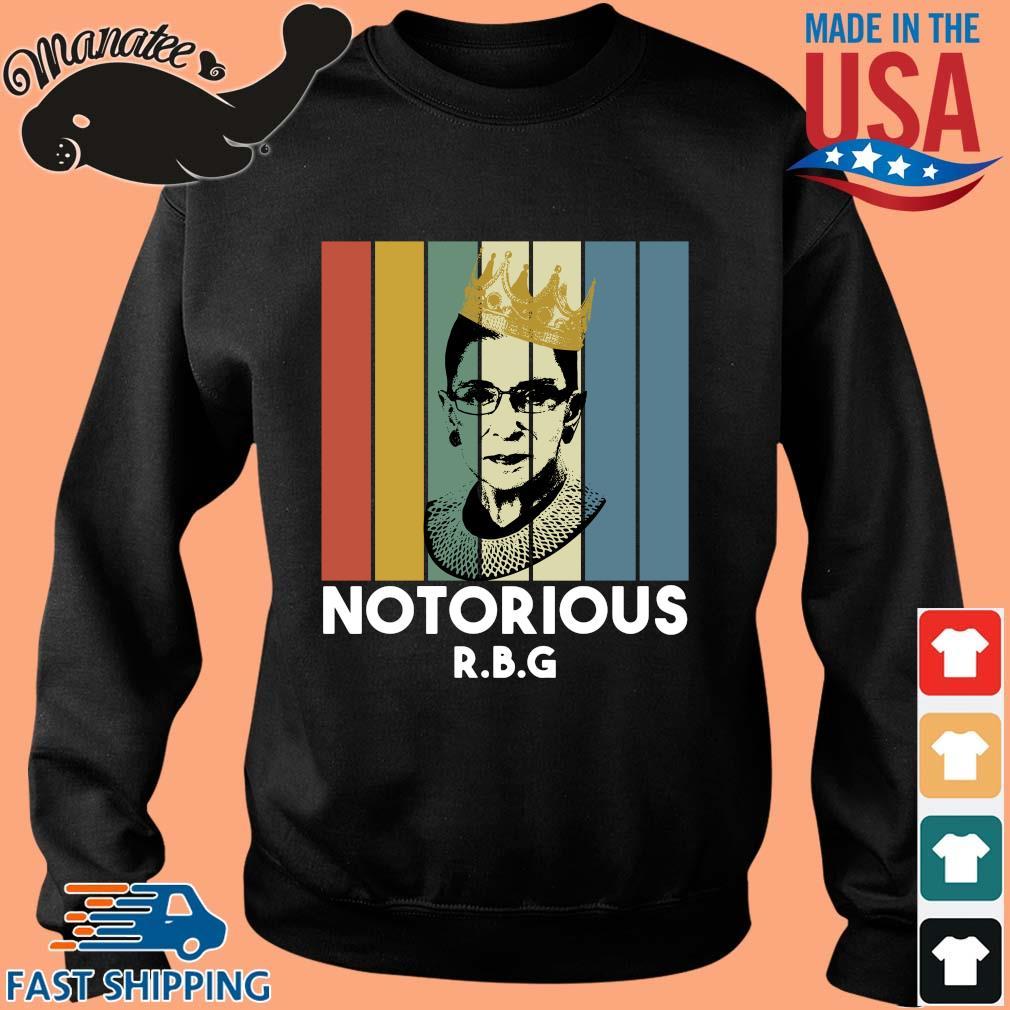 Ruth Bader Ginsburg crown notorious RBG vintage s Sweater den