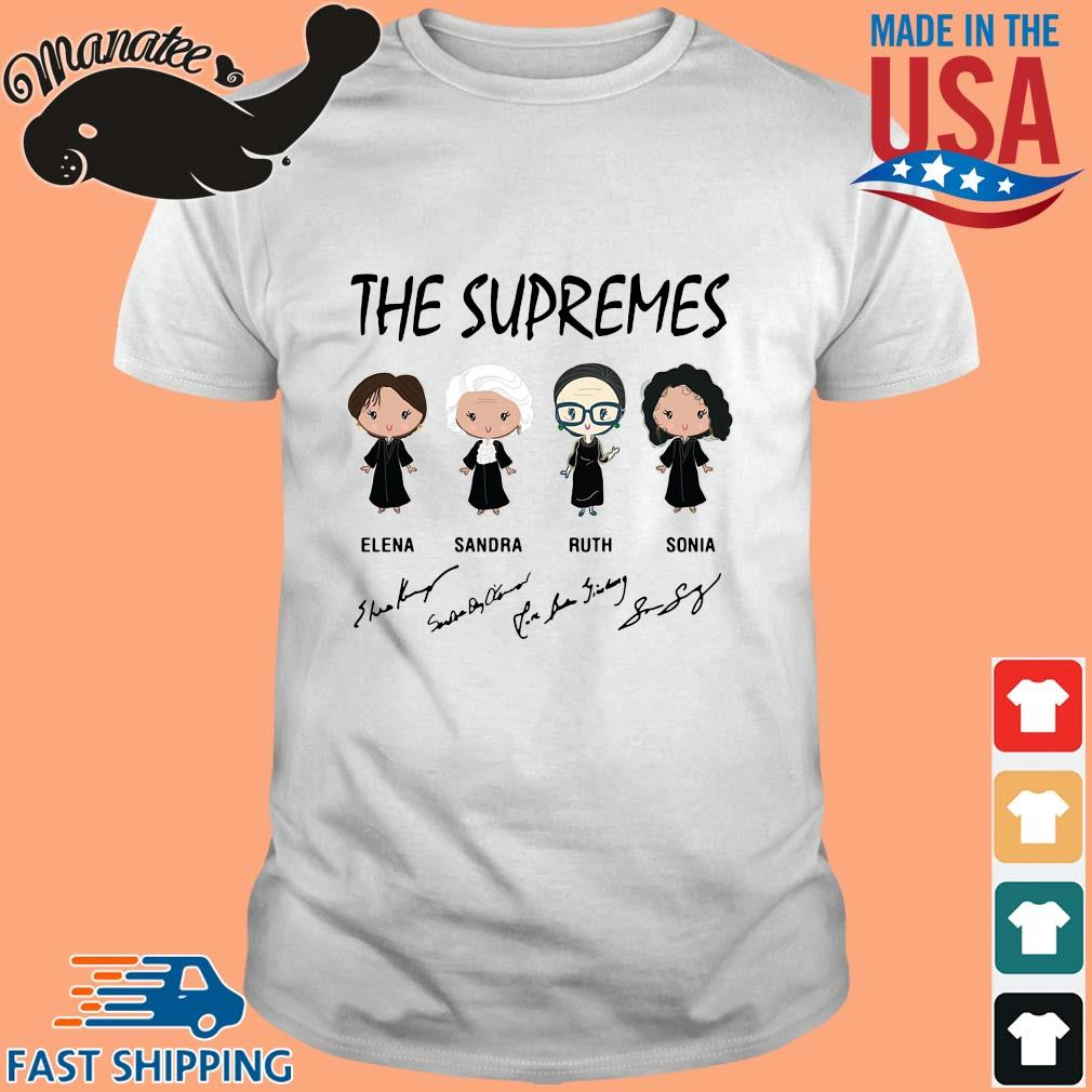 The supremes Elena Sandra Ruth Sonia signature shirt