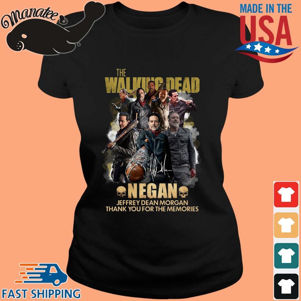 The Walking Dead Negan Jeffrey Dean Morgan signature thank you for the memories s ladies den