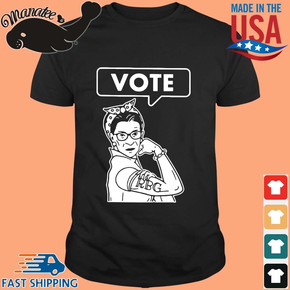 Vote Ruth Bader Ginsburg Shirt