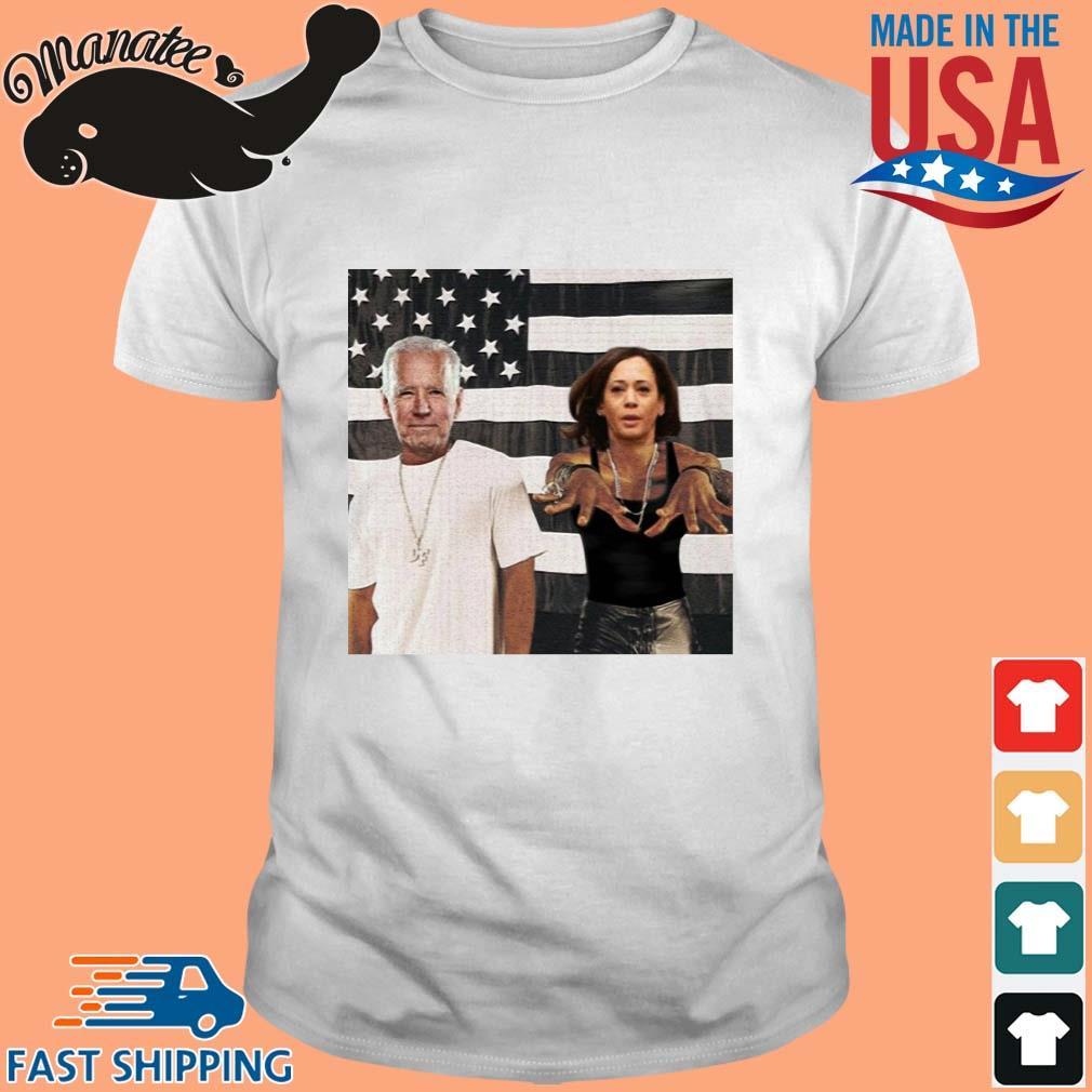 Biden Harris Outkast Stankonia American flag Shirt