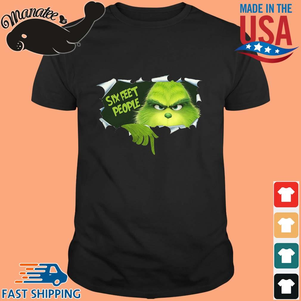 Blood inside Me The Grinch Six Feet People Shirt
