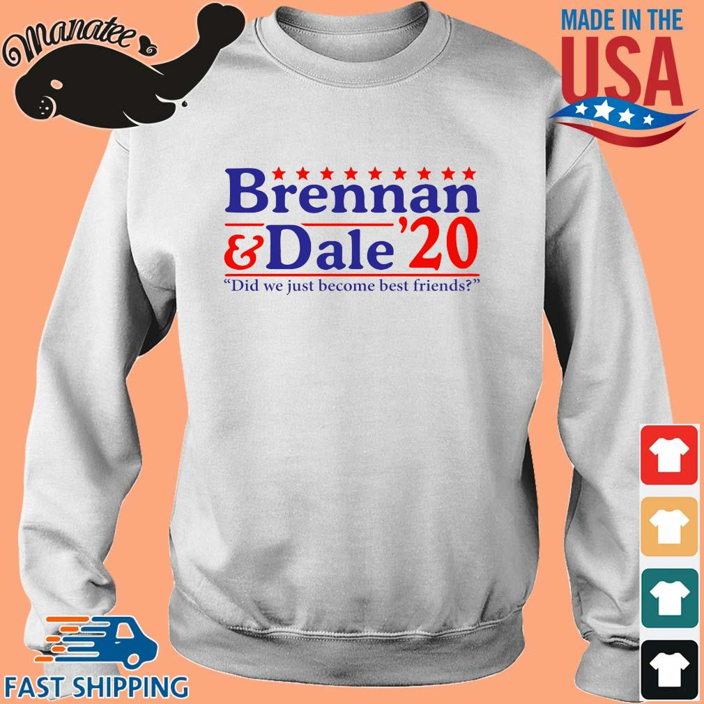Brennan and Dale _20 đi we just become best Friends s Sweater trang