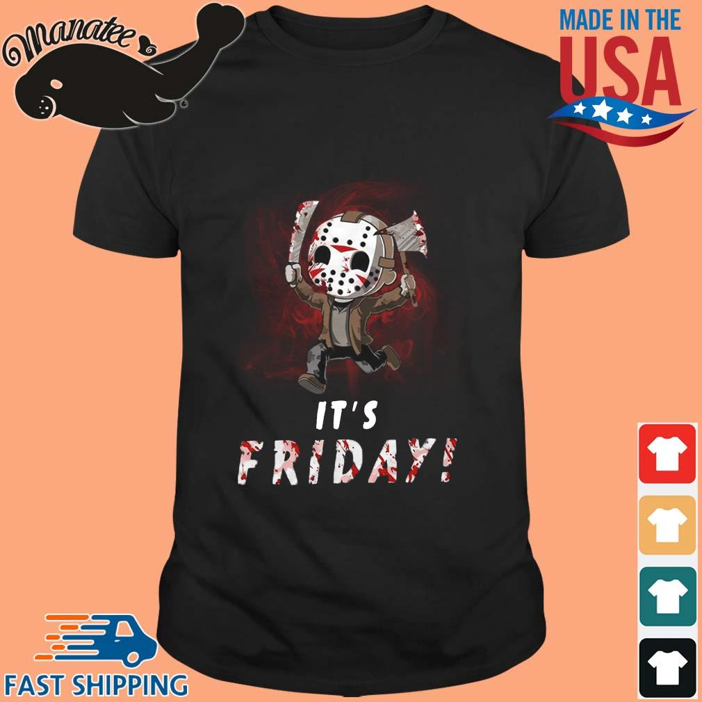 Jason Voorhees chibi its friday Halloween shirt