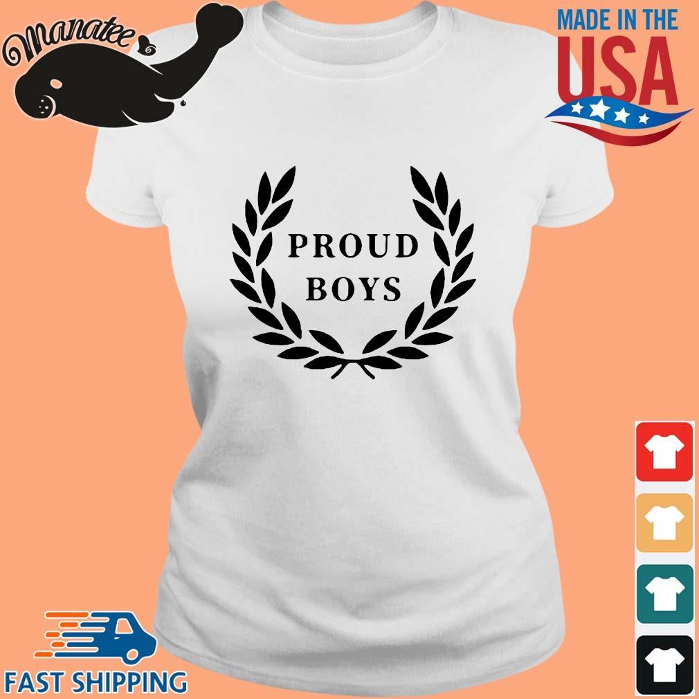 Official Proud Boys Shirt Ladies trang