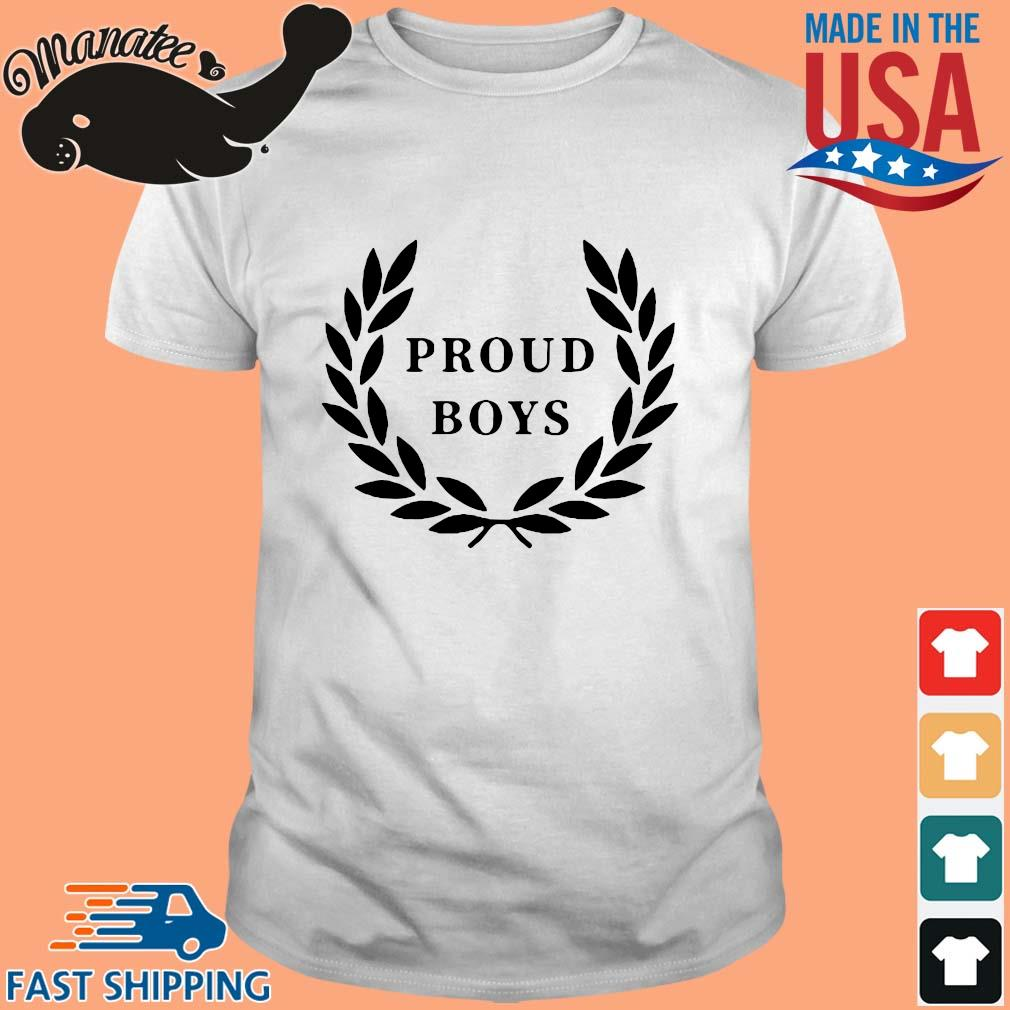 Official Proud Boys Shirt
