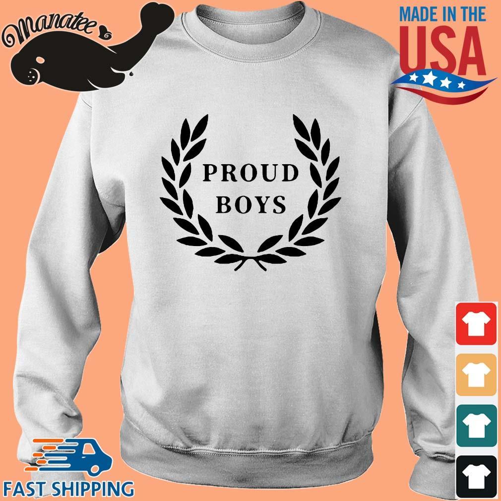 Official Proud Boys Shirt Sweater trang