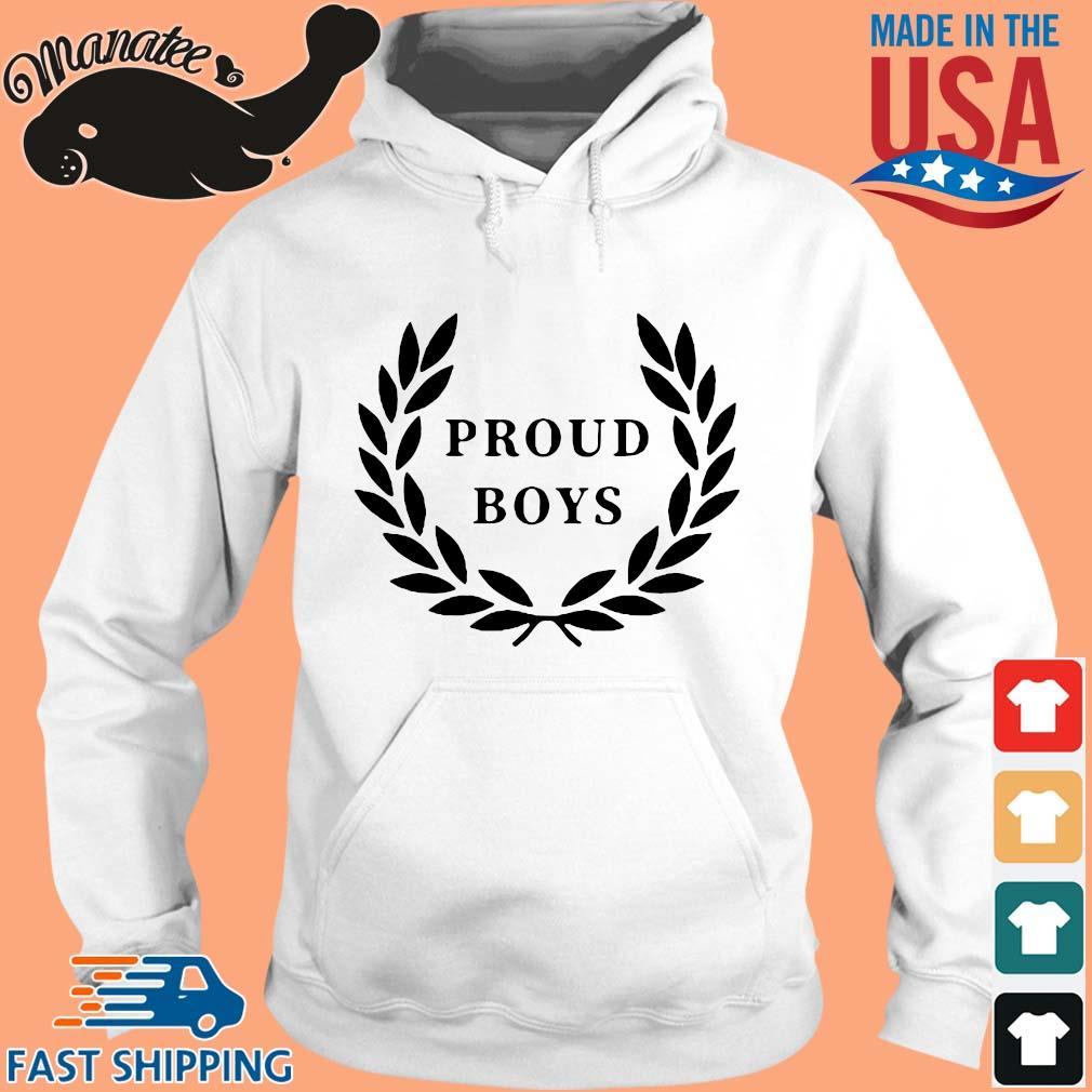 Official Proud Boys Shirt hoodie trang