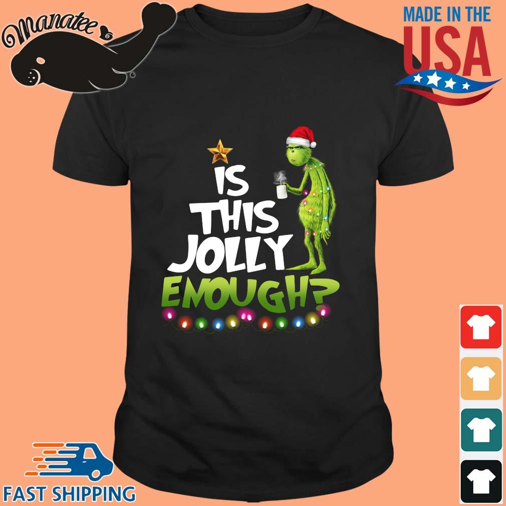 Santa Grinch is this Jolly enough Christmas sweater