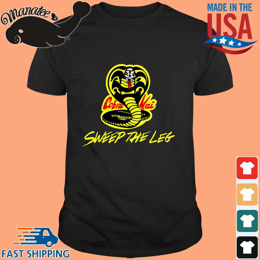 sweep the leg Cobra Kai Karate Kid 80s shirt