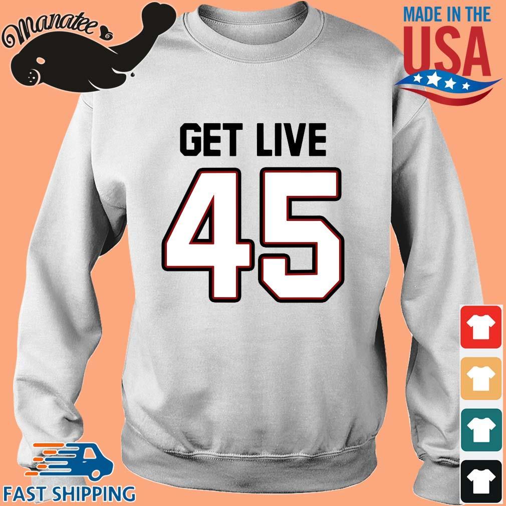 Tampa Bay Football Get Live 45 Shirt Sweater trang