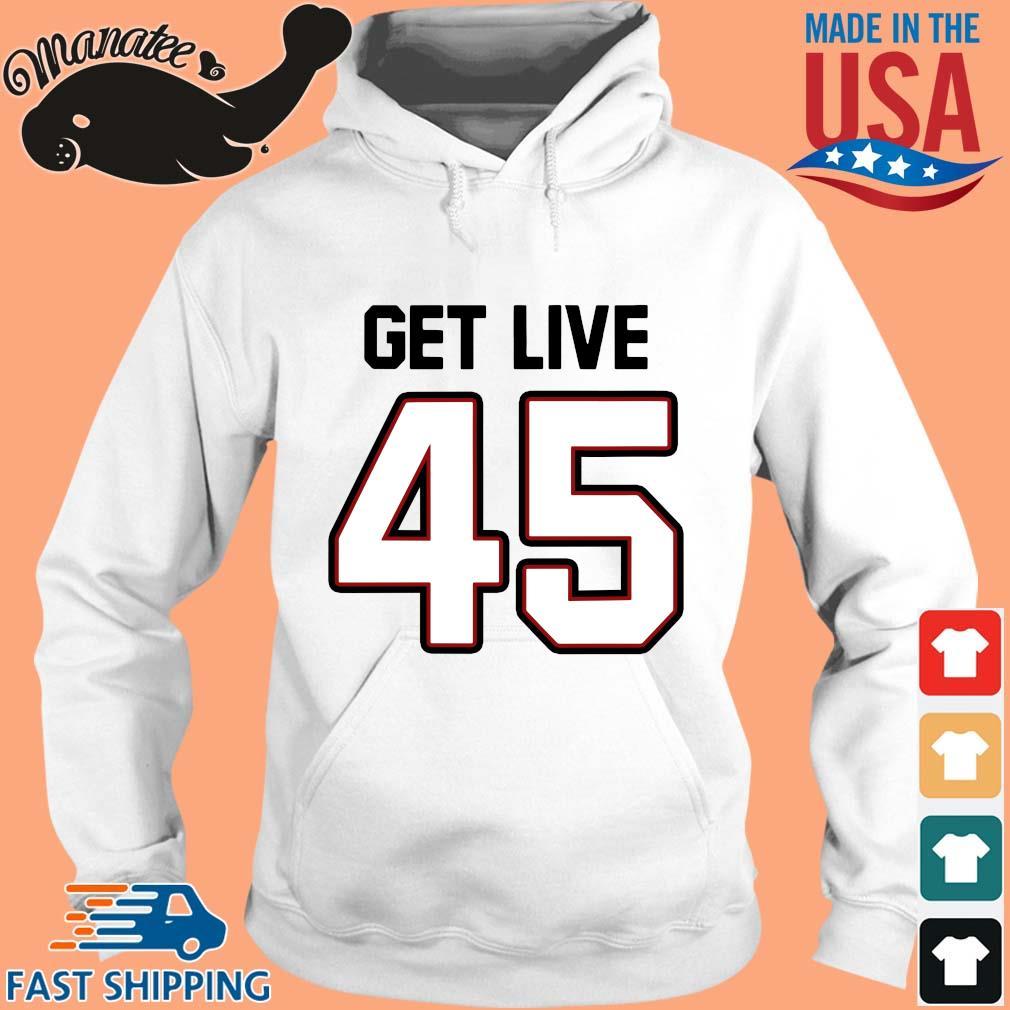 Tampa Bay Football Get Live 45 Shirt hoodie trang