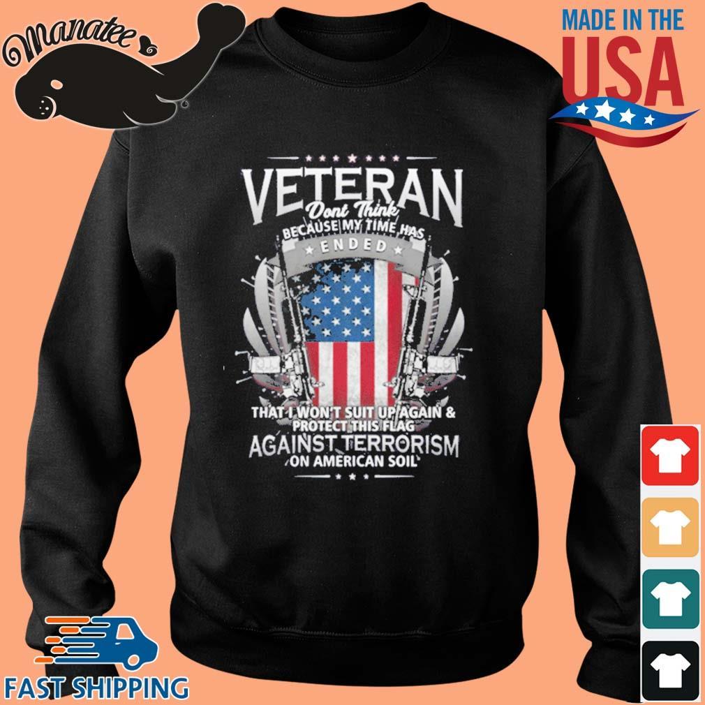 Veterans Against Terrorism Shirt Sweater den