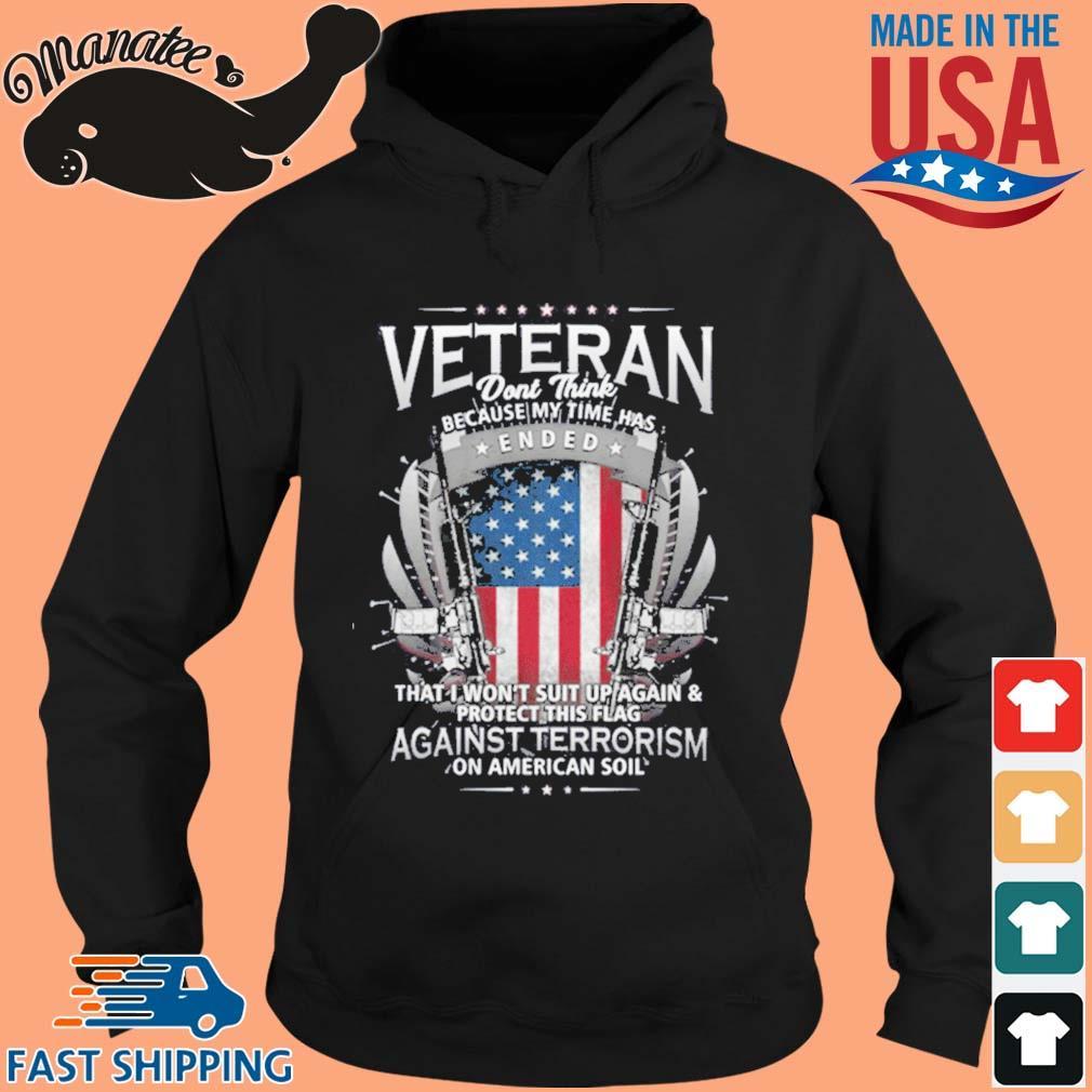 Veterans Against Terrorism Shirt hoodie den