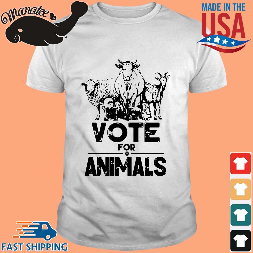 Vote for animals 2020 President shirt