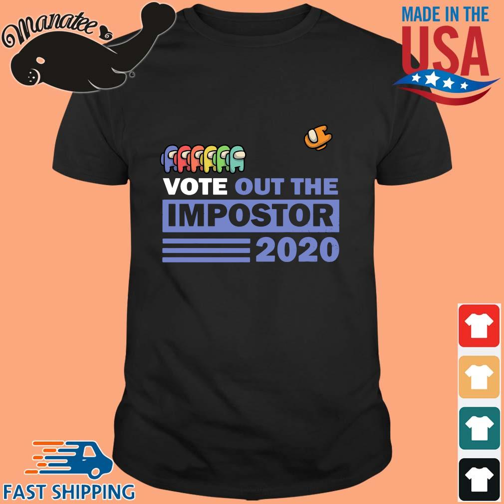 Vote out the impostor Among Us 2020 shirts