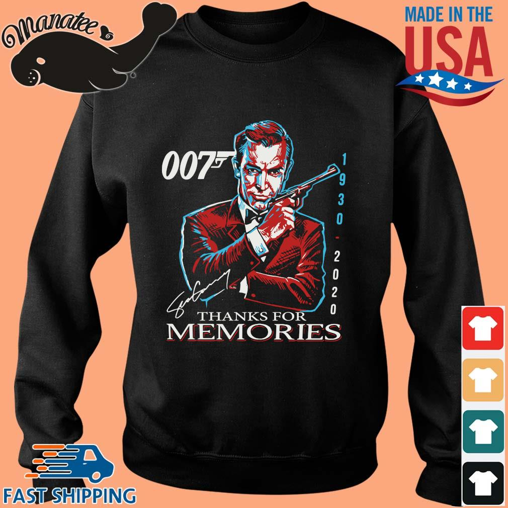 007 Sean Connery 1930 2020 thank you for the memories signature sweater