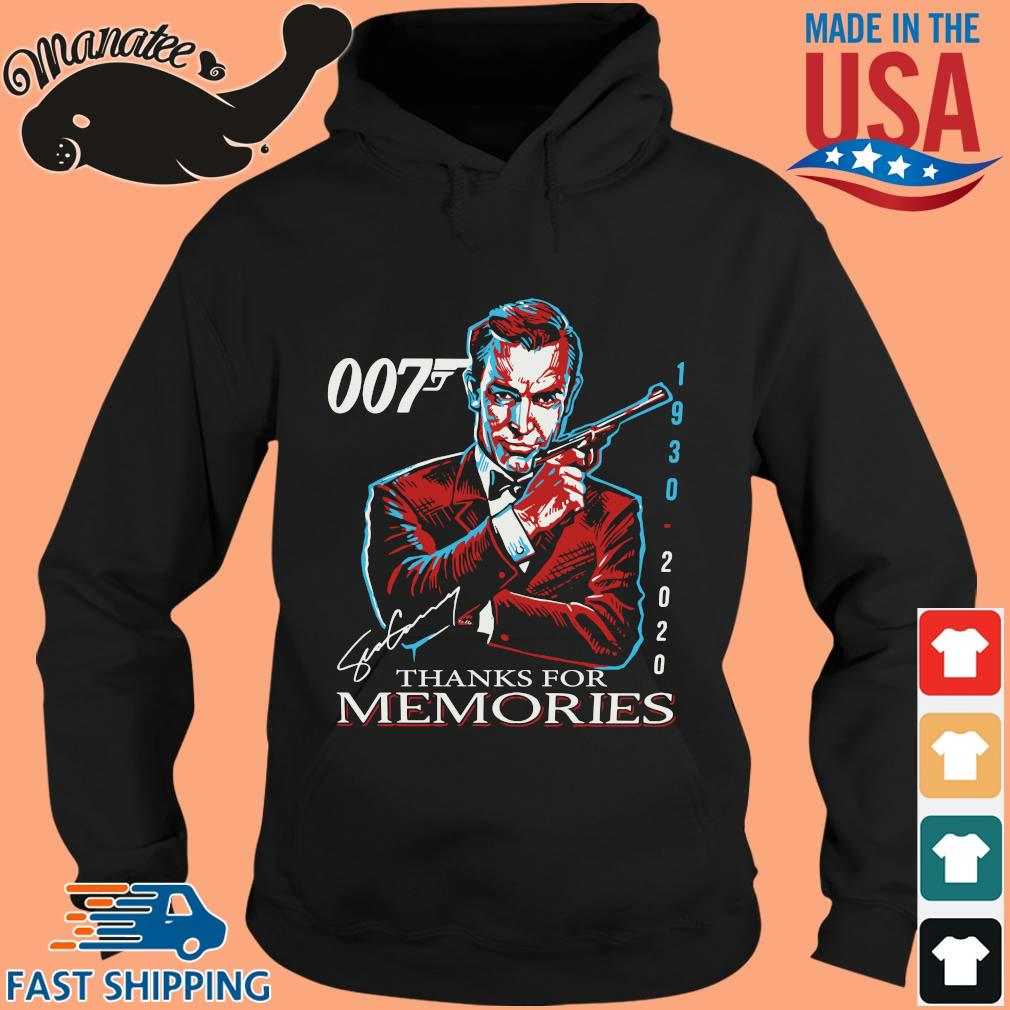 007 Sean Connery 1930 2020 thank you for the memories signature sweater hoodie den
