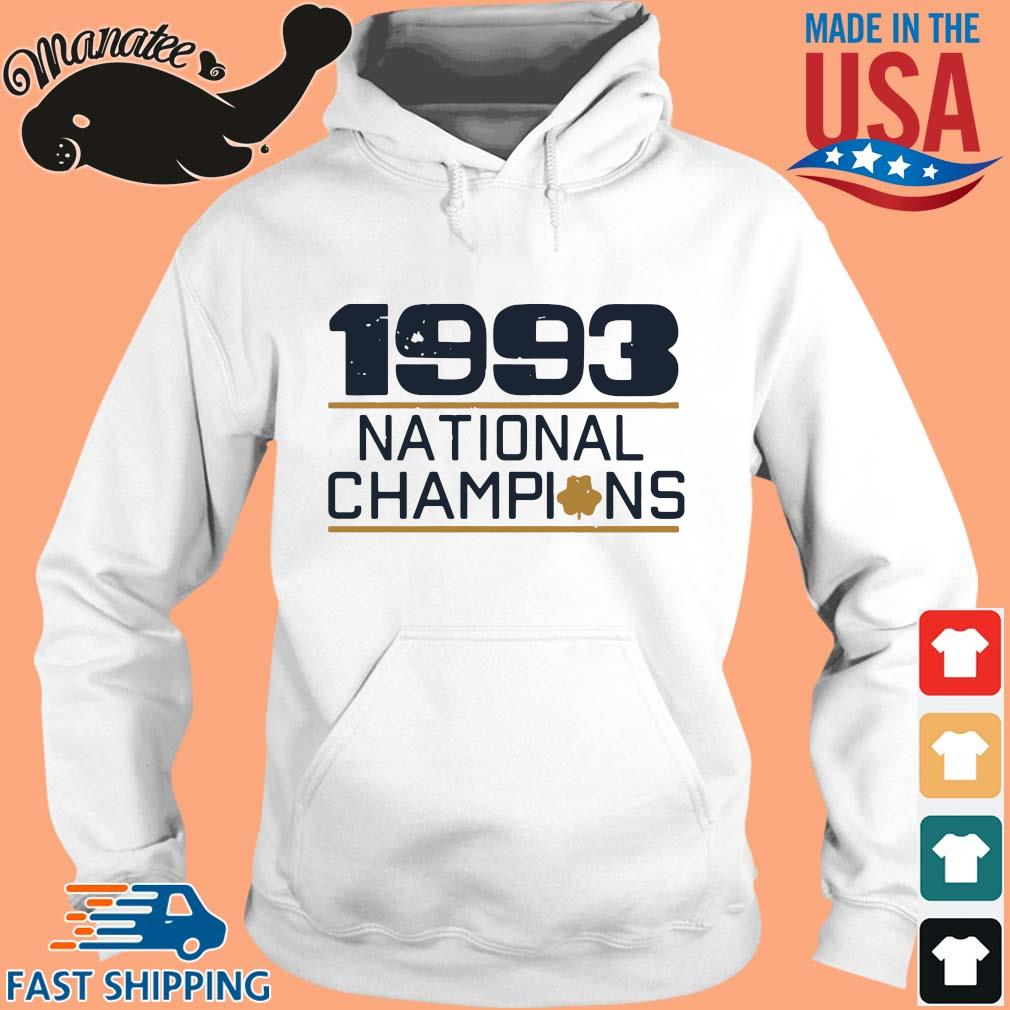 1993 national Champions s hoodie trang