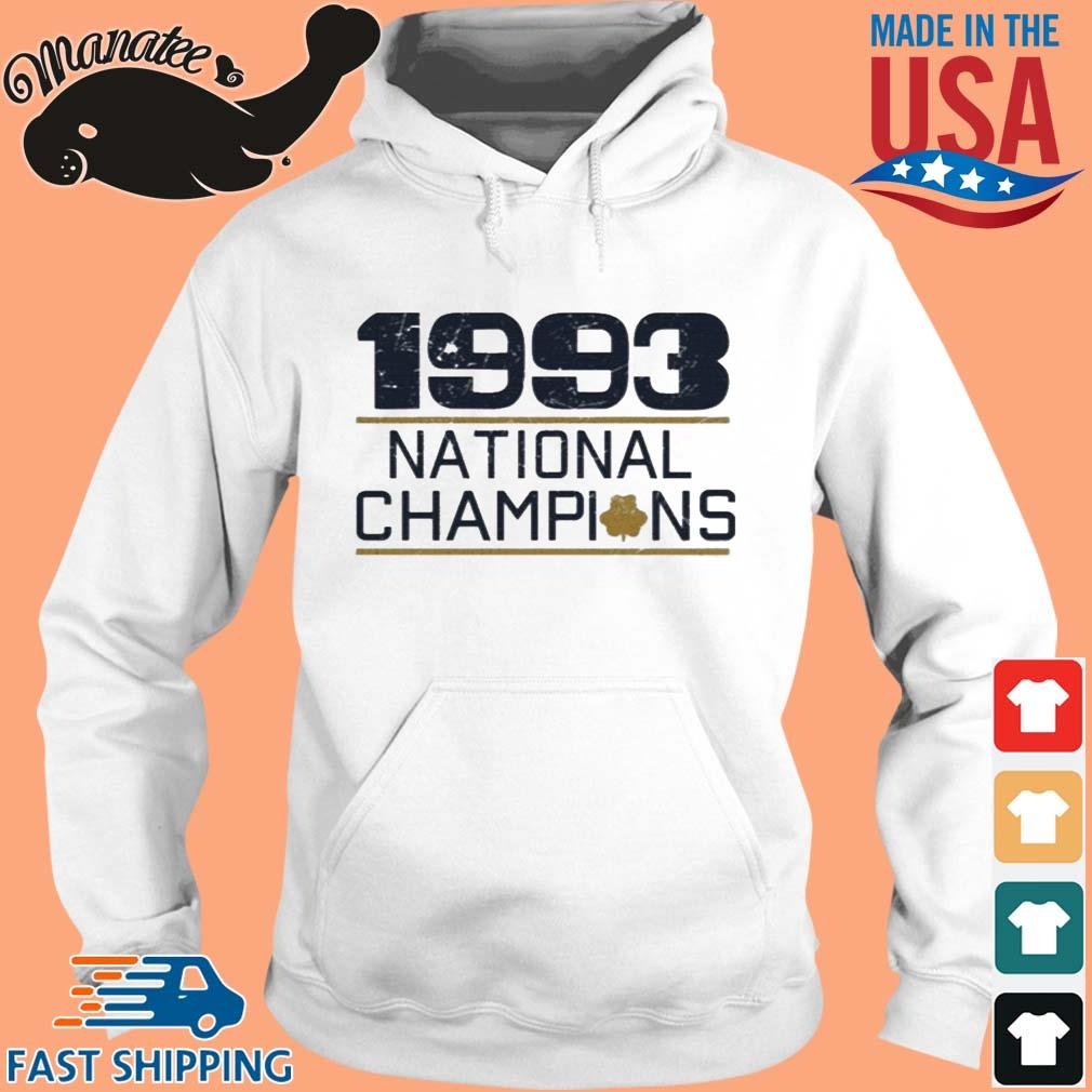 1993 National Champs Shirt hoodie trang