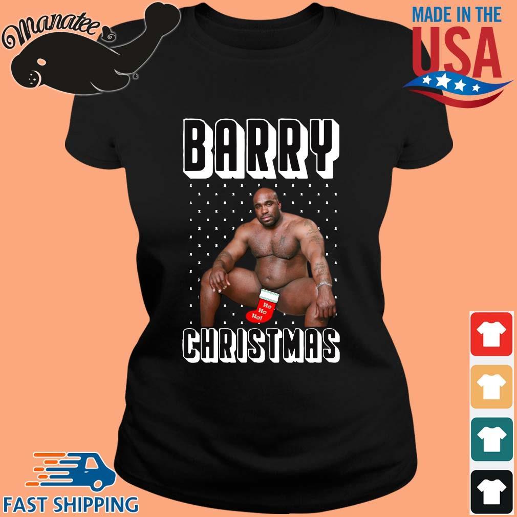Barry Wood Merchandise Ugly Christmas Sweater ladies den