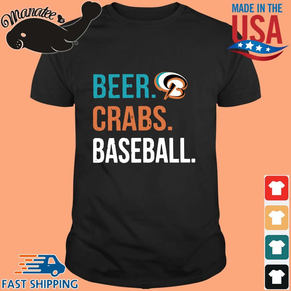 Beer crabs baseball 2020 shirt