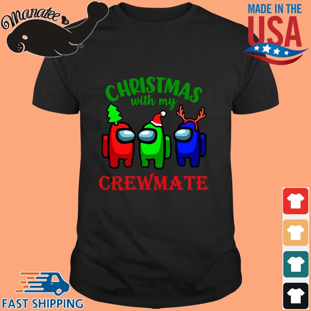 Christmas with my crewmate Among Us sweater