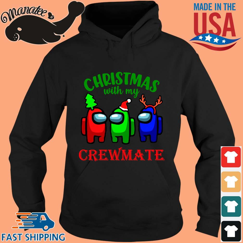 Christmas with my crewmate Among Us sweater hoodie den