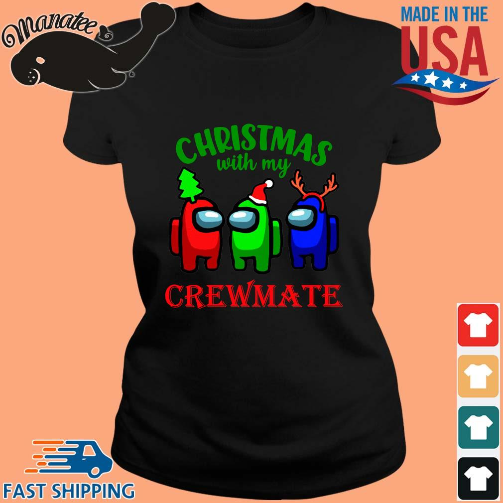 Christmas with my crewmate Among Us sweater ladies den