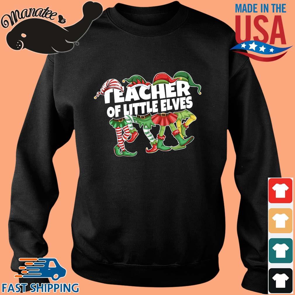 Elf Teacher Of Little Elves Christmas Sweater Sweater den