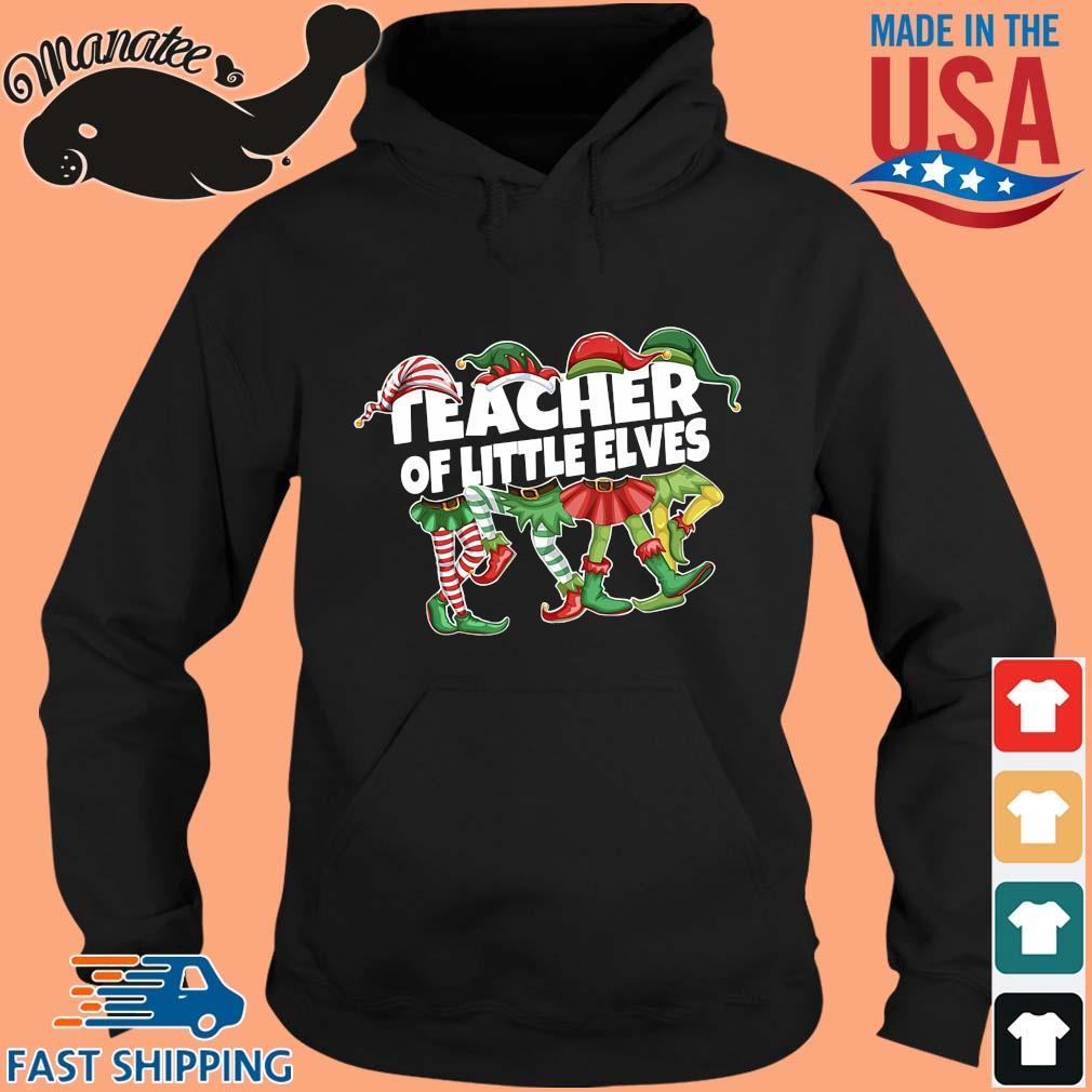 Elf Teacher Of Little Elves Christmas Sweater hoodie den
