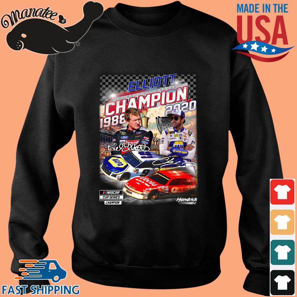 Elliott Nascar Cup Series Champion 1988-2020 Signatures Shirt Sweater den