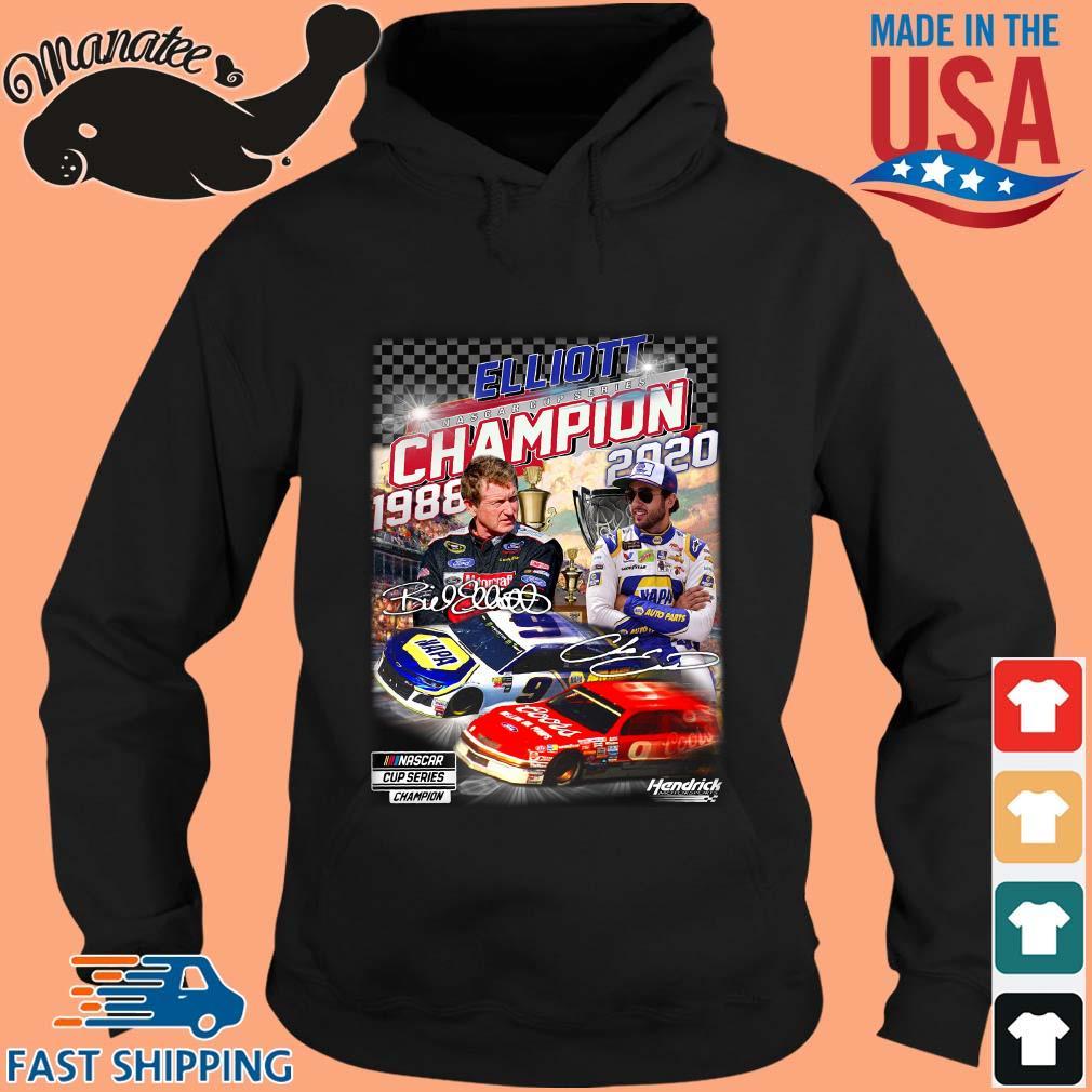 Elliott Nascar Cup Series Champion 1988-2020 Signatures Shirt hoodie den