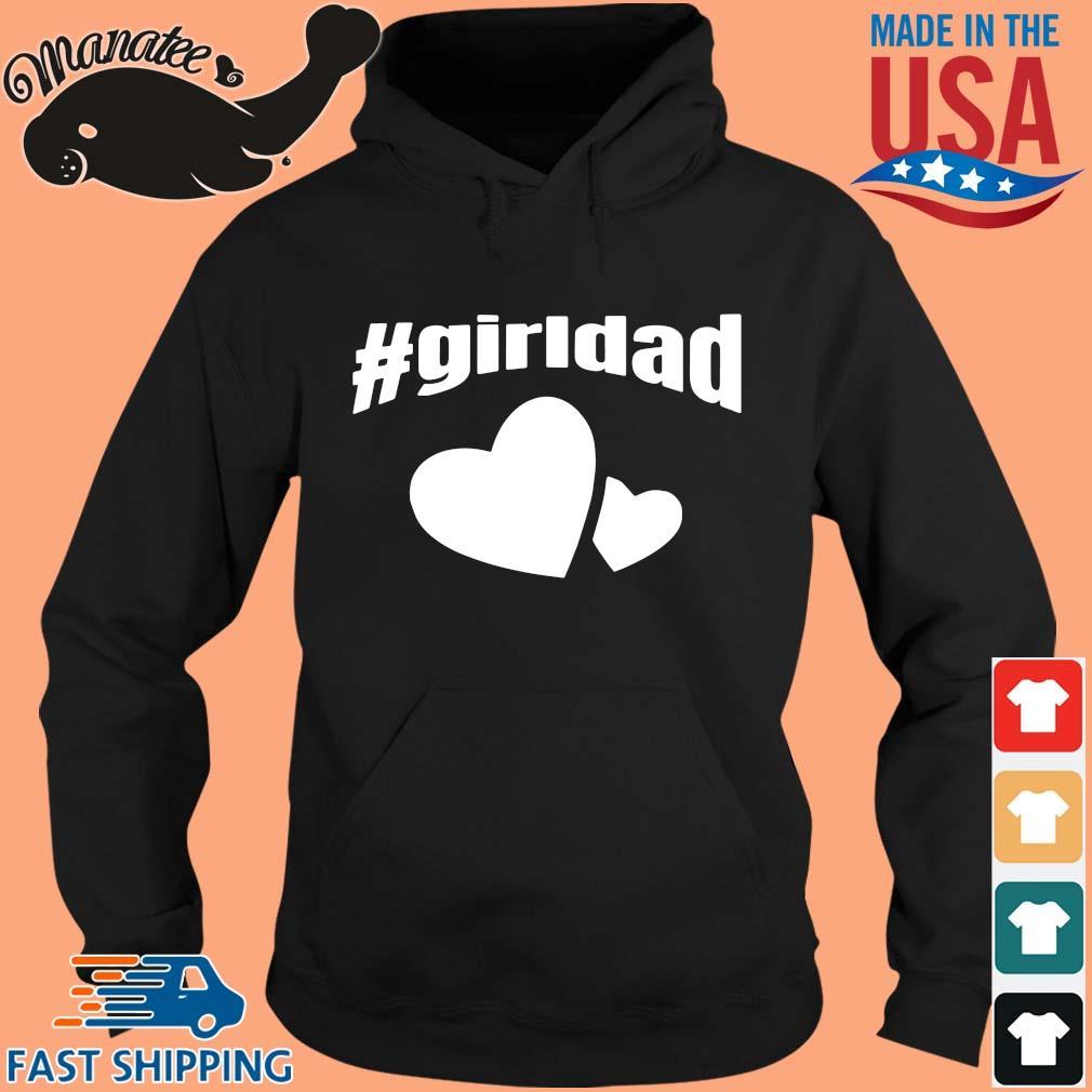#girldad Girl Dad Father of Girls 2020 T Shirt (1) hoodie den