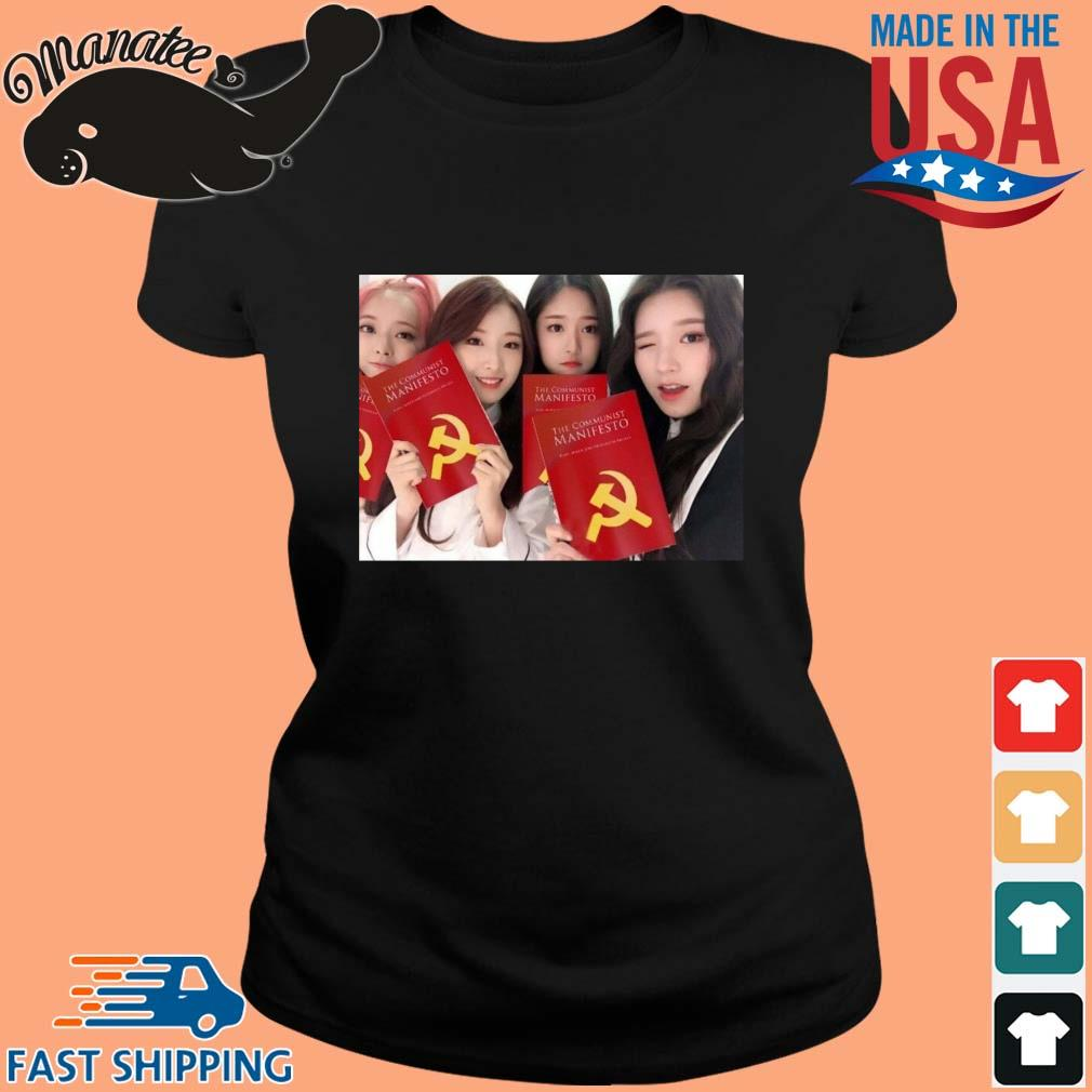 Loona The Communist Manifesto Shirt ladies den