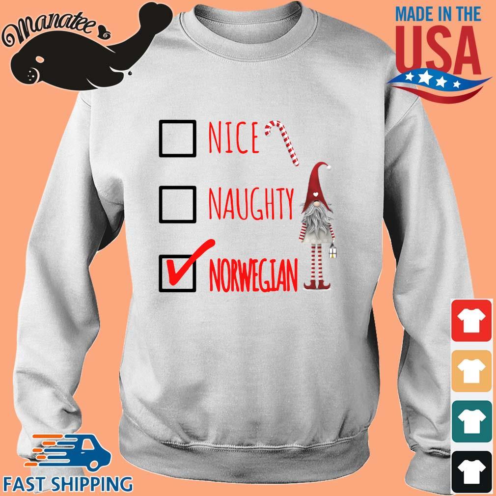 Nice naughty norwegian shirt