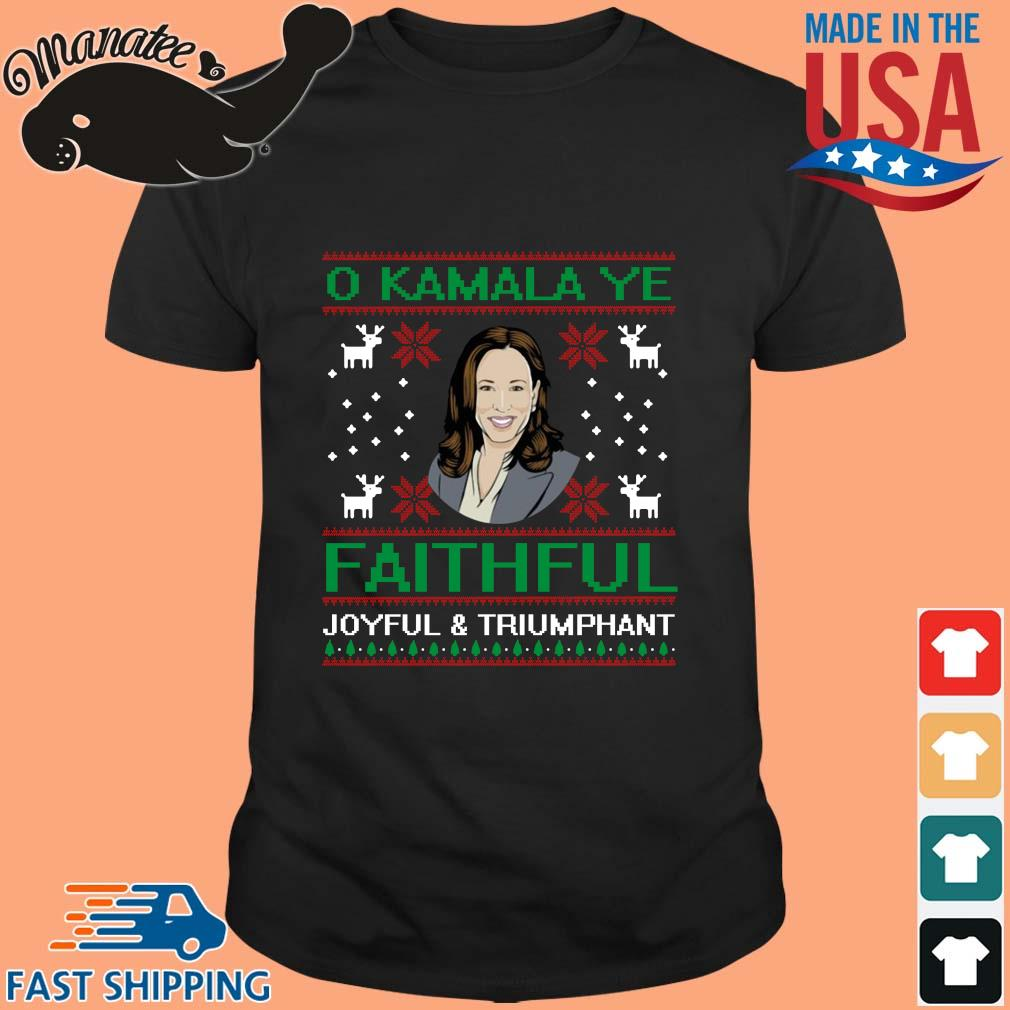 O Kamala Ye Faithful Ugly Christmas Sweater