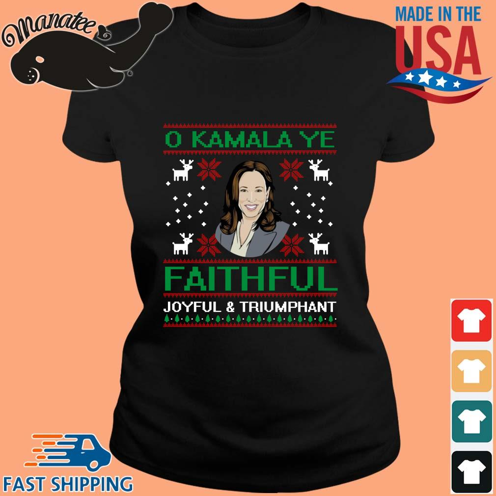 O Kamala Ye Faithful Ugly Christmas Sweater ladies den