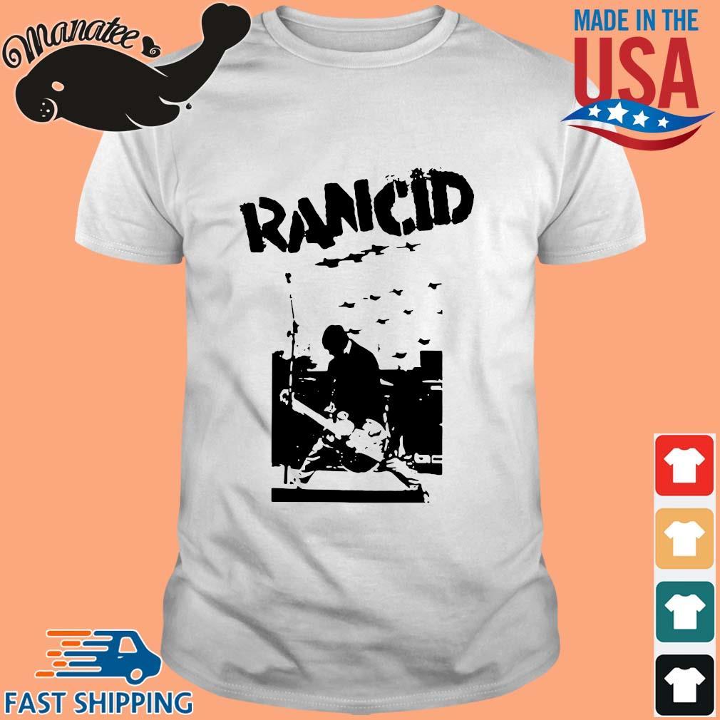 Rancid rock s Shirt trang