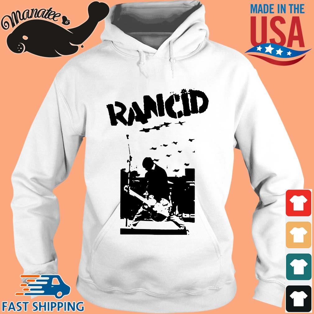 Rancid rock s hoodie trang